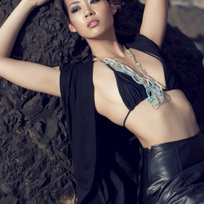 Model Kristi Kawauchi by fashion photographer Dustin Rowley - Image 024