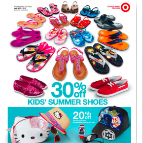 Commercial photography for Target Canada